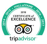 Trip Advisor Excellence 2018